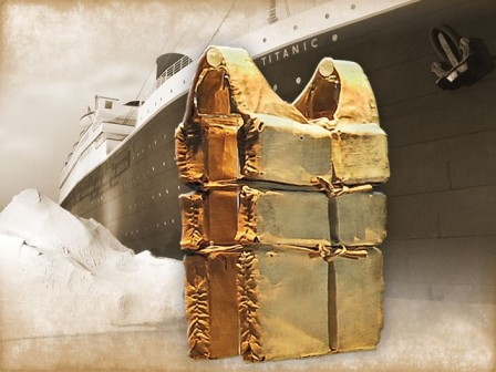 June 15th- last Day to See Titanic Life Jackets!