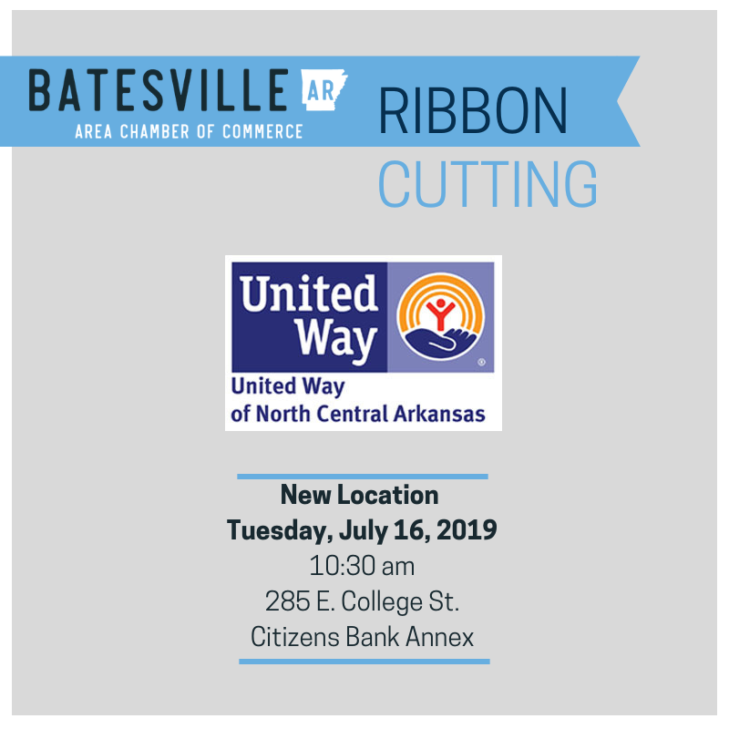 United Way Ribbon Cutting for New Location