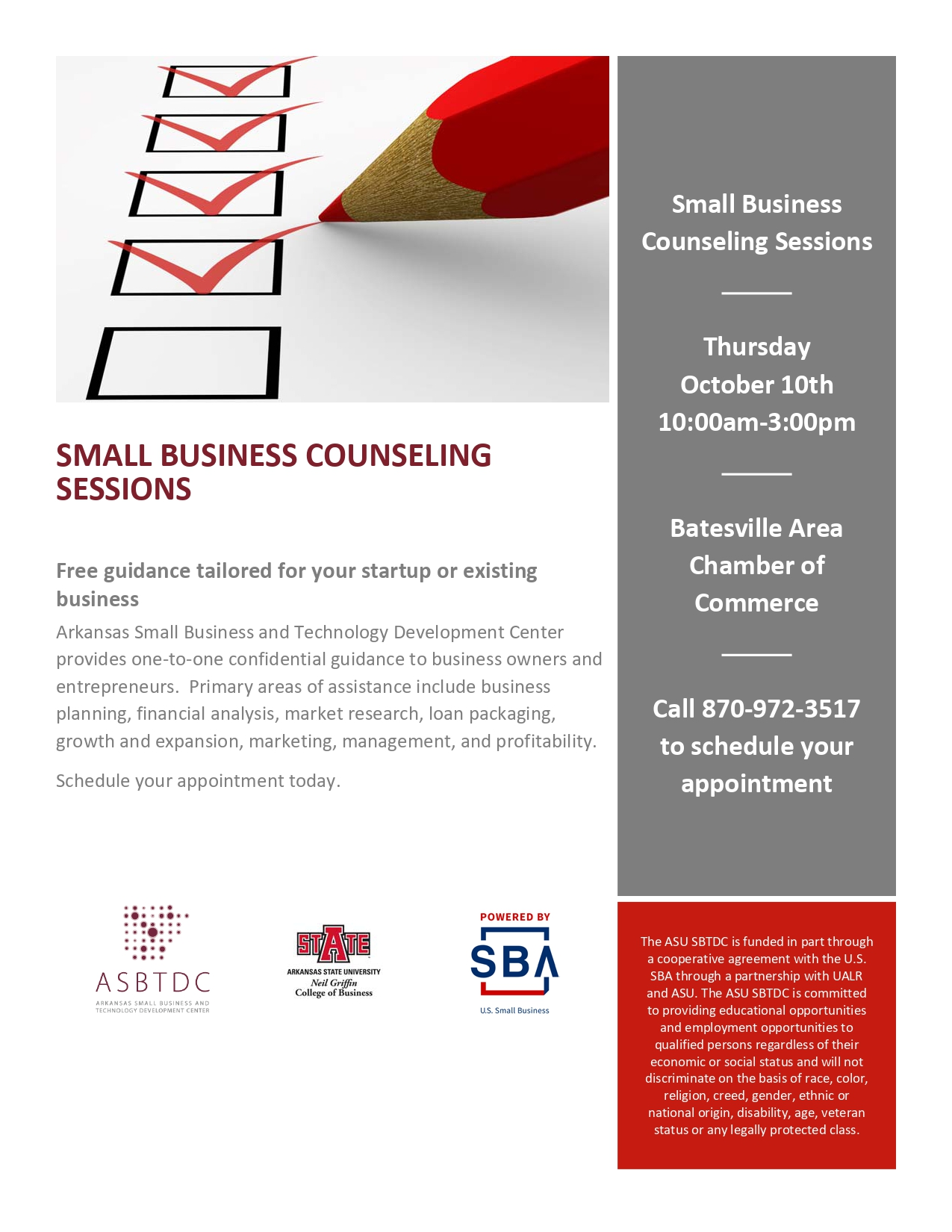 Small Business Consulting Session