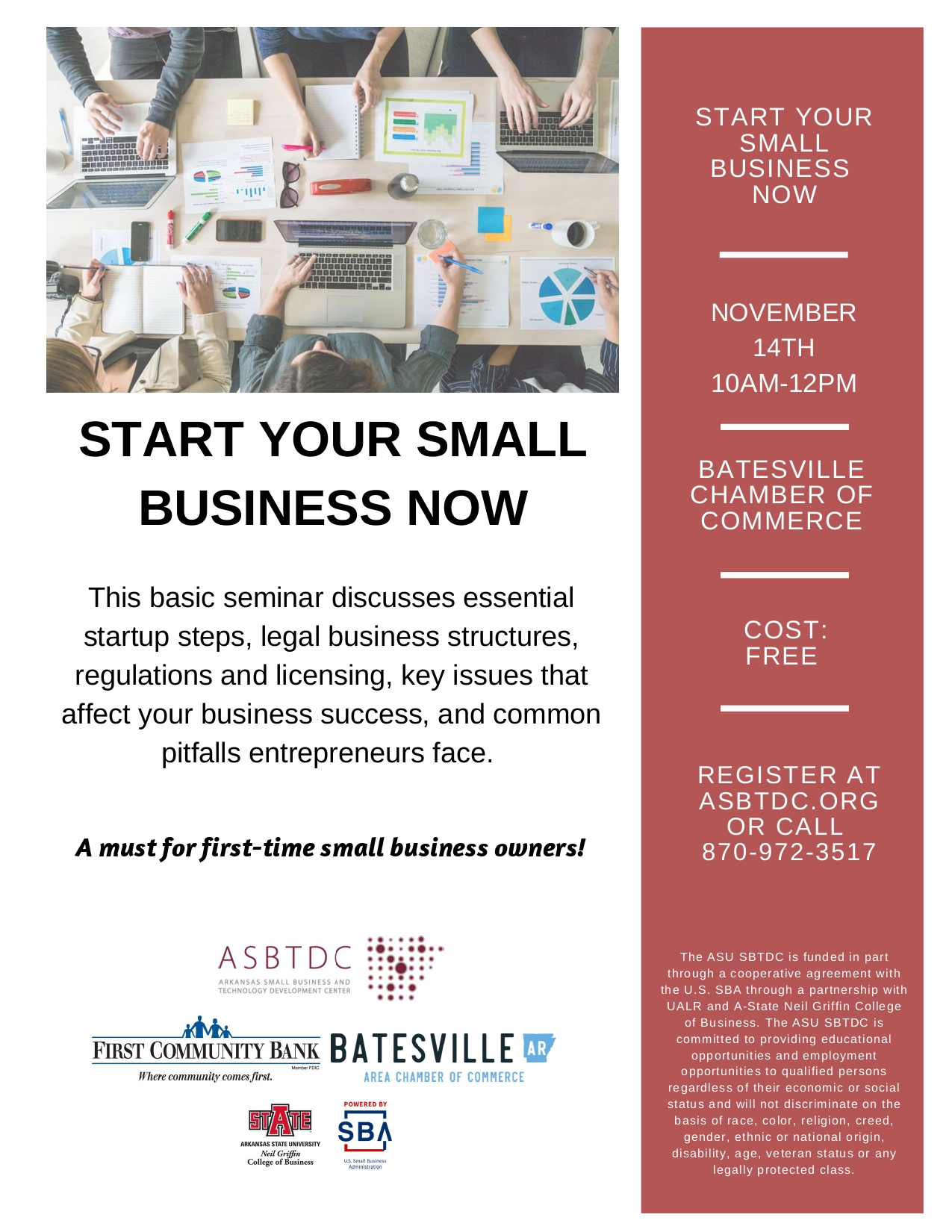 Start Your Small Business Workshop