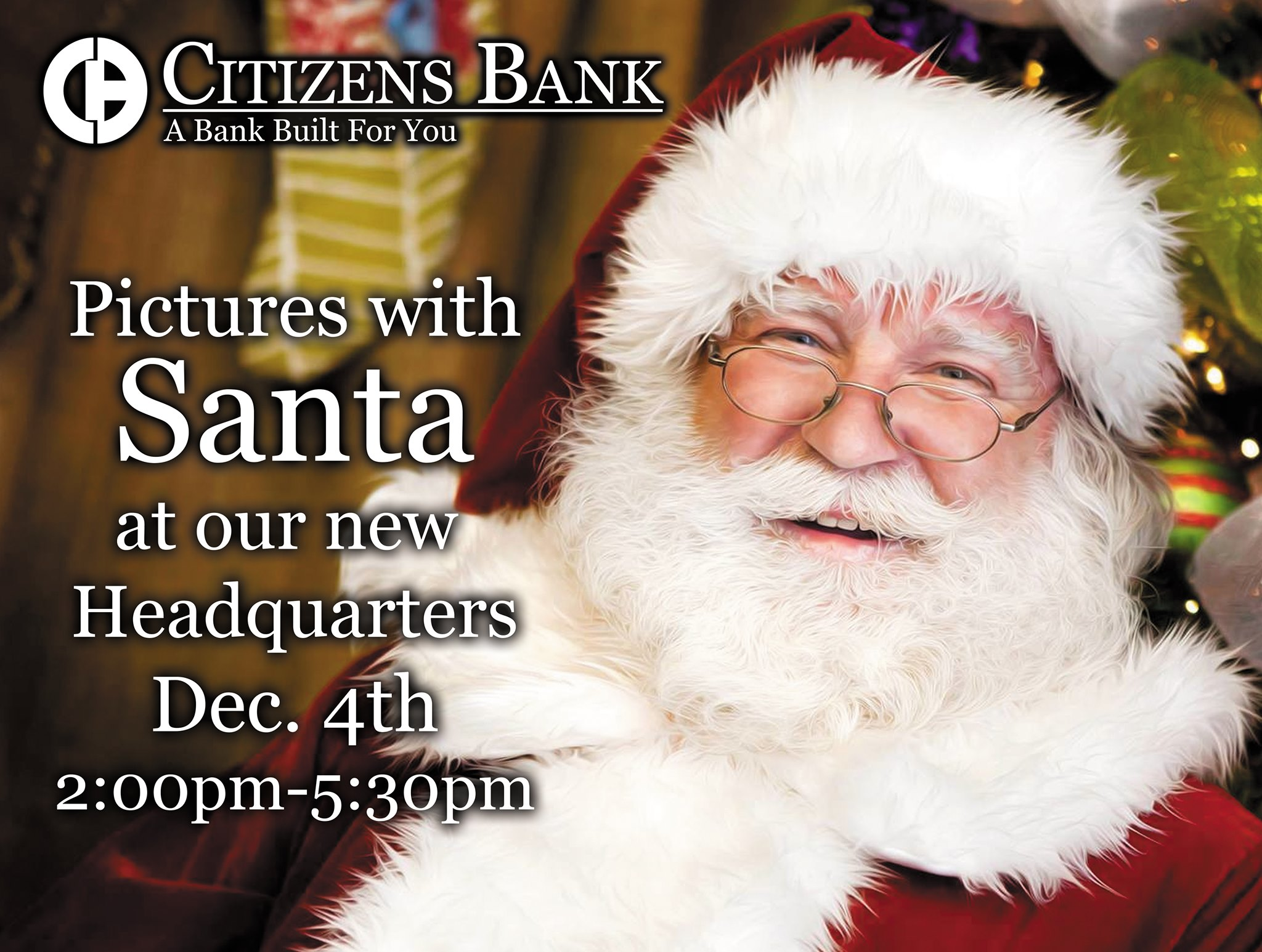 Citizens Bank presents Pictures with Santa