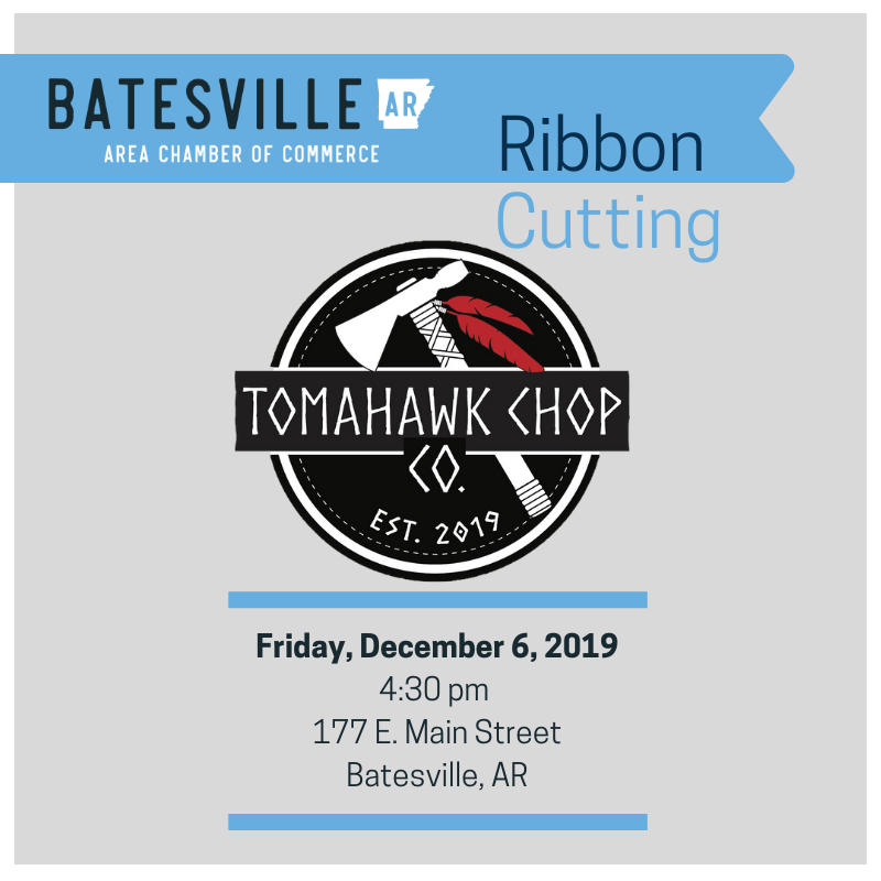 Ribbon Cutting & Grand Opening for Tomahawk Chop Company