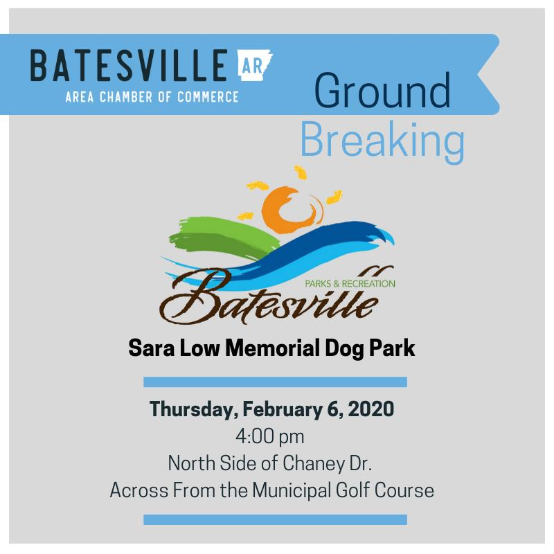 Groundbreaking for the Sara Low Memorial Dog Park